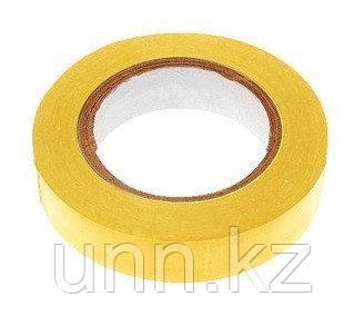 Изолента ПВХ Rollix 15мм*20м желтый, фото 2