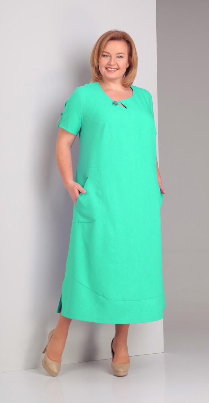 Платье Novella Sharm-2919, мята, 58