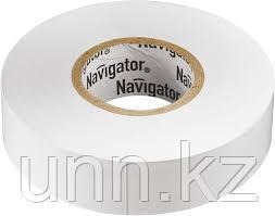 Изолента NIT-B15-10/WH белая 71 228 Navigator, фото 2