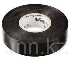 Изолента NIT-B15-10/BL черная 71 229 Navigator, фото 2