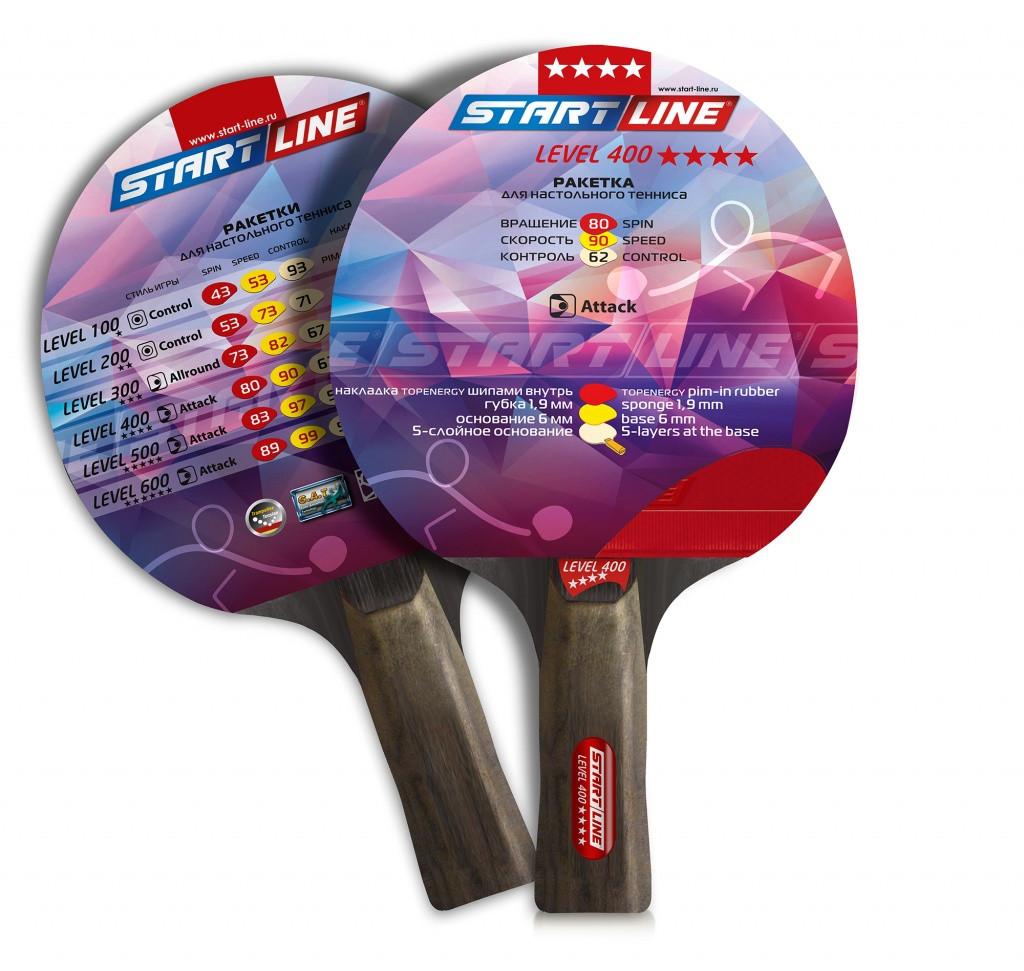 Теннисная ракетка Start line Level 400 (анатомическая)