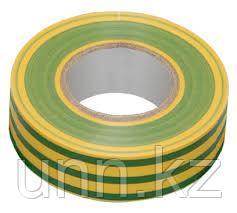 Изолента 0,18*19 мм желто-зеленая 20 метров ИЭК