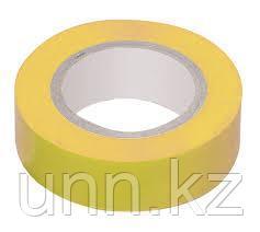 Изолента 0,18*19 мм желтая 20 метров ИЭК