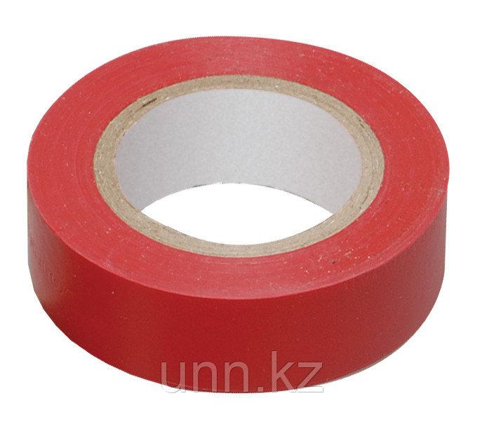 Изолента 0,13*15 мм красная 20 метров ИЭК