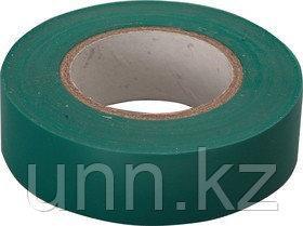 Изолента 0,13*15 мм зеленая 20 метров ИЭК
