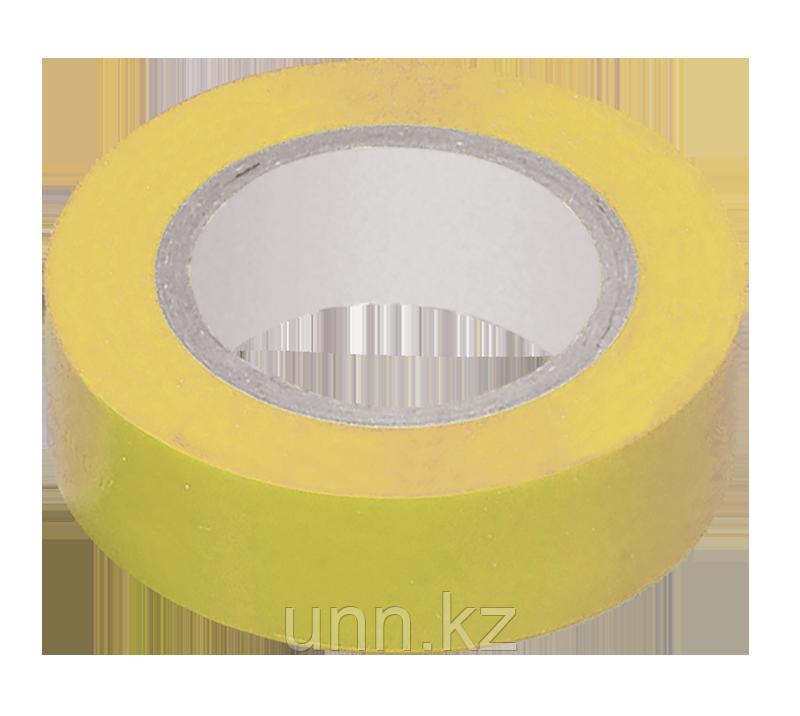 Изолента 0,13*15 мм желтая 20 метров ИЭК