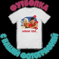 Сублимационная печать на футболке А4, фото 3