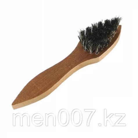 Щетка для бороды и усов деревянная