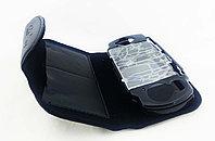 Чехол кожаный на застежке с пласт. защ. Sony PSP Slim 2000/3000 2in1 Leather-Pouch Crystal Case, чер, фото 1