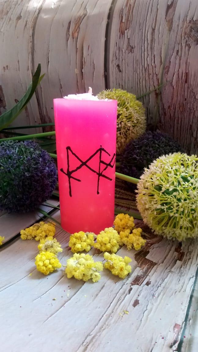 Свеча-став «Вместе по жизни».