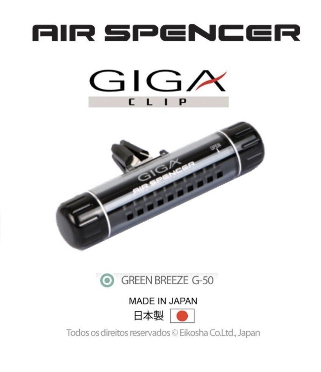 EIKOSHA AIR SPENCER GIGA CLIP Green Breeze/Зелёный бриз