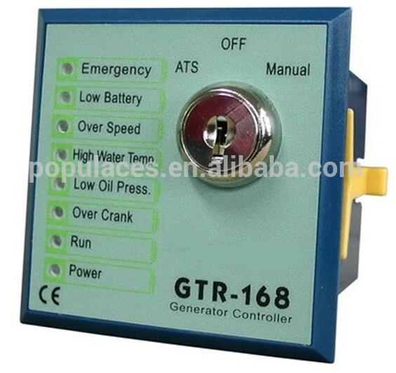 Дизель генератор контроллера дистанционного электронного управления GTR168