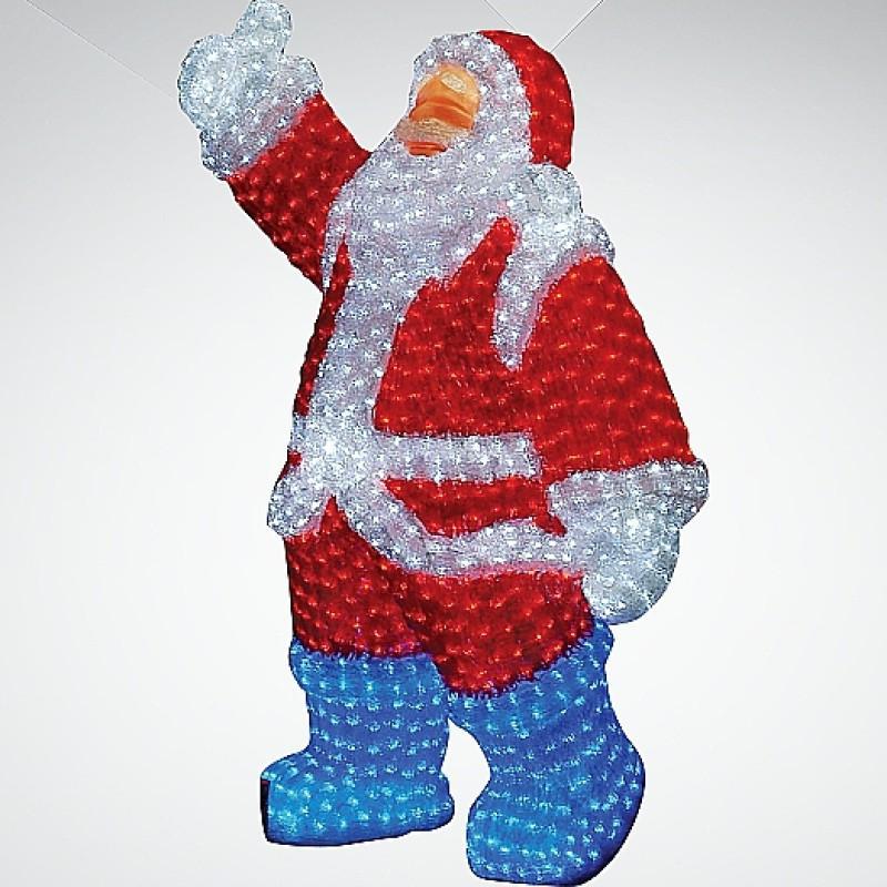 """Светодиодная фигура """" Санта Клаус 120*80см, 210*130 см ,  160*100см"""
