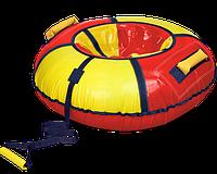 Тюбинг красный с желтым , диаметр 1100 мм
