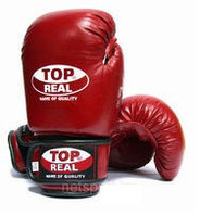 Боксерские перчатки TOP REAL, фото 1