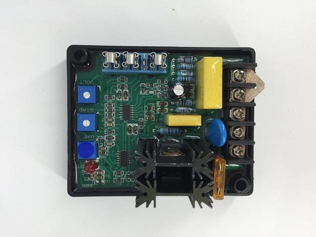 Общие бесщеточный генератор AVR GAVR-8A AVR 8A, фото 2