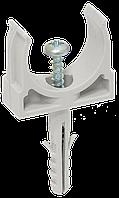 Держатель с защёлкой и дюбелем CT16 IEK (10 шт/упак)