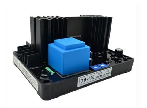 Однофазный Генератор AVR стабилизатор напряжения GB-120 20A параллельно, фото 2
