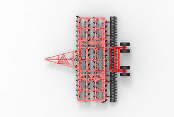 Борона дисковая БДМ 7м ПК четырехрядная, прицепная, фото 2