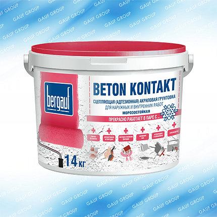 BETON KONTAKT,Сцепляющая (адгезионная) акриловая грунтовка, *Морозостойкая, 14 кг, фото 2