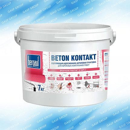 BETON KONTAKT, Сцепляющая (адгезионная) акриловая грунтовка, 7 кг . Летняя версия, фото 2