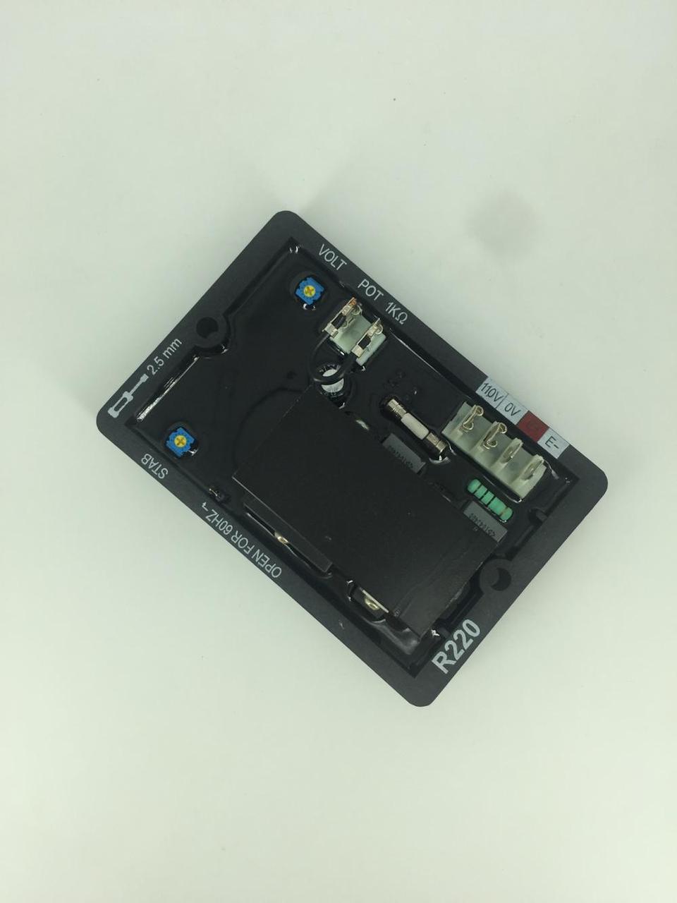 AVR R220 автоматический регулятор напряжения