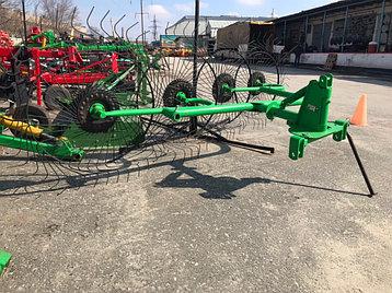 Грабли-ворошилки Турция Agrolead 2,6м (4хколесные), фото 2
