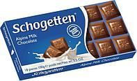 Молочный шоколад Schogetten Alpine Milk Chocolate Альпийское молоко 100гр (15 шт. в упаковке)