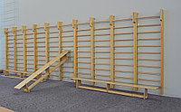 Гимнастическая стенка  деревянная, фото 1