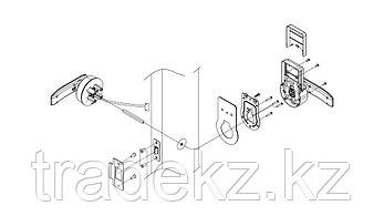 Commax CDL-800WL электронный биометрический/кодовый замок, фото 2