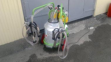 Доильный аппарат 1 бидон 2 пульсатор Agrolead (Турция) сухого типа