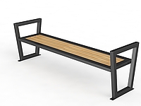 Уличная скамейка без спинки №3, фото 1