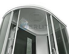 Душевая кабина ERLIT ER3512TPR-C4  высокий поддон, тонированое стекло