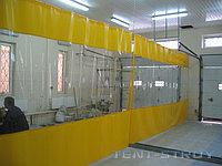 Прозрачный шторы для автомоек, фото 1