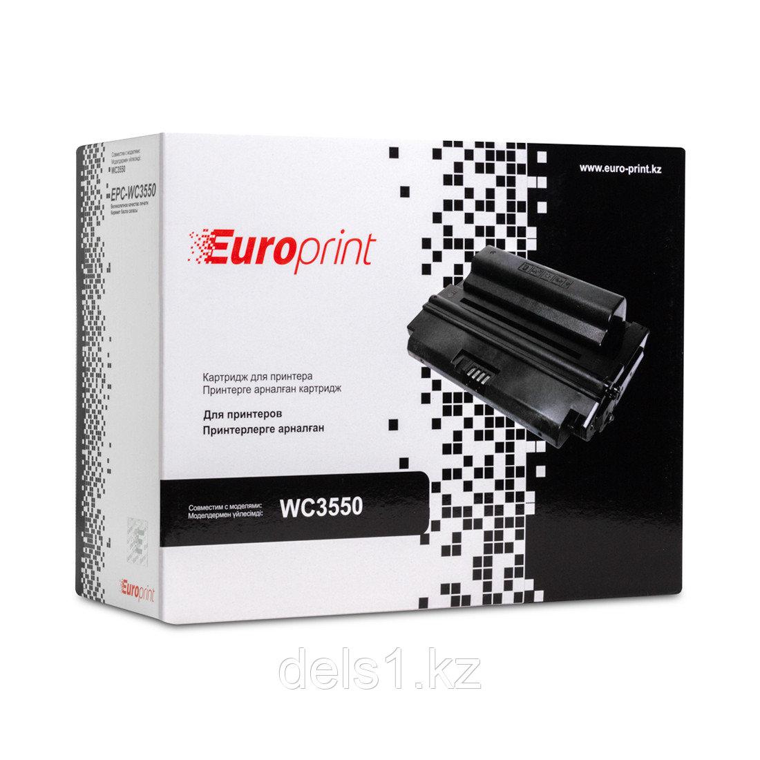Картридж, Europrint, EPC-106R01529, Для принтеров Xerox WorkCentre 3550, 5000 страниц.