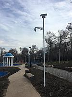 Парковый светильник на солнечной батарее