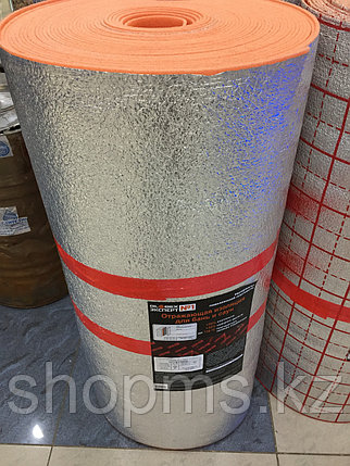 Отражающая изоляция для бань и саун Globex НПП-К-ЛФ 5мм*1000*30м Оранжевая ЭКСПЕРТ, фото 2