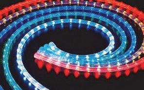 Дюралайты светодиодный LED 10м