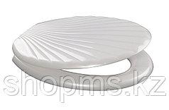 Сиденье для унитаза универсальное ОРИО (КР3-1) белое ЛЮКС