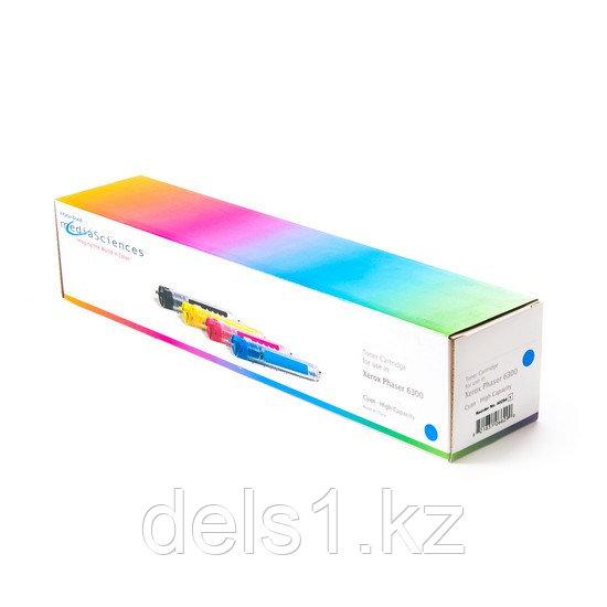 Тонер-картридж, Katun, Для принтеров Xerox Phaser 6300, Синий, 7000 страниц.