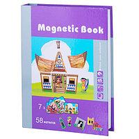 """Magnetic Book TAV027 Развивающая игра """"Строение мира"""", 65 деталей"""