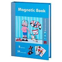 """Magnetic Book TAV029 Развивающая игра """"Интересные профессии"""", 42 детали"""