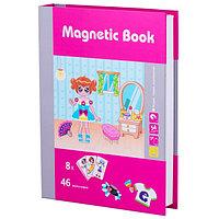 """Magnetic Book TAV036 Развивающая игра """"Модница"""", 54 детали"""