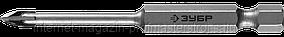 """Сверло по стеклу и кафелю, 4 мм, хвостовик шестигранный 1/4"""", серия «ПРОФЕССИОНАЛ», ЗУБР"""