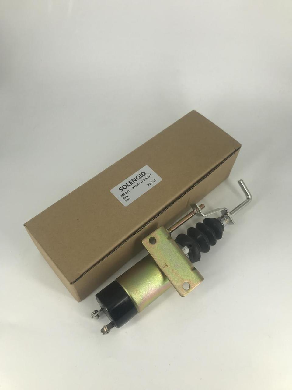 12 В дизельный двигатель генератора топливо отключить электромагнитный клапан 366-07197