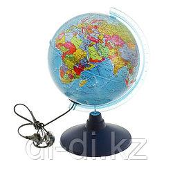 GLOBEN Глoбус политический «Классик Евро», диаметр 210 мм, с подсветкой ke12100180