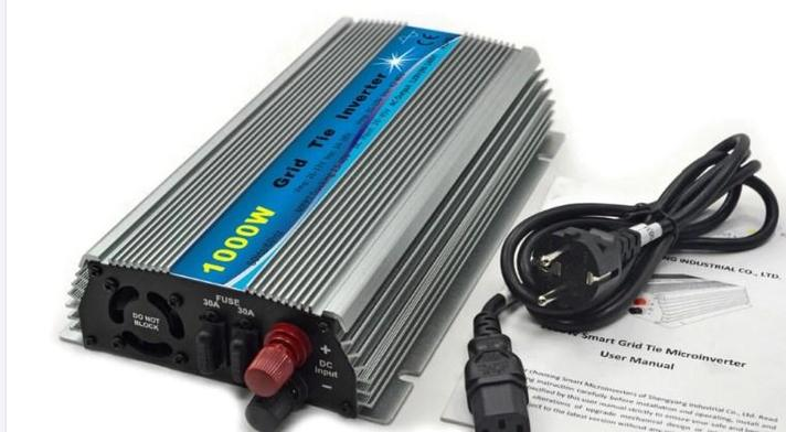 Инвертор связи решетки 1000 Вт 10.5-48VDC для 24 В и 36 В солнечные панели, фото 2