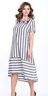 Платье Matini-31180, синие тона, 52