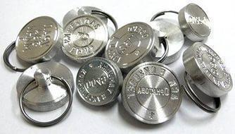 Изготовление металлических печатей (пломбиров)