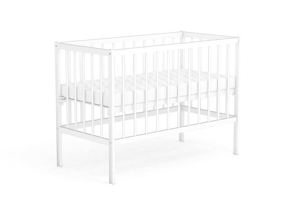 Детская кроватка Фея 101 Белый